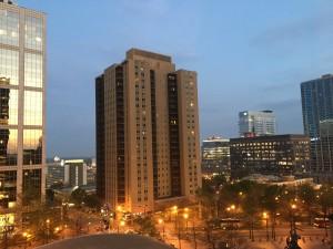 Dawn in Atlanta